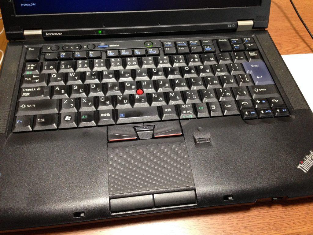 ThinkPad T410の写真