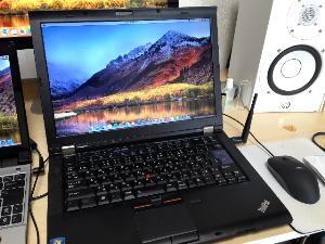 ThinkPadにUbuntuを入れてMac風に。