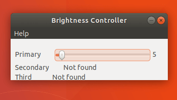 brightness Controller Simple ver