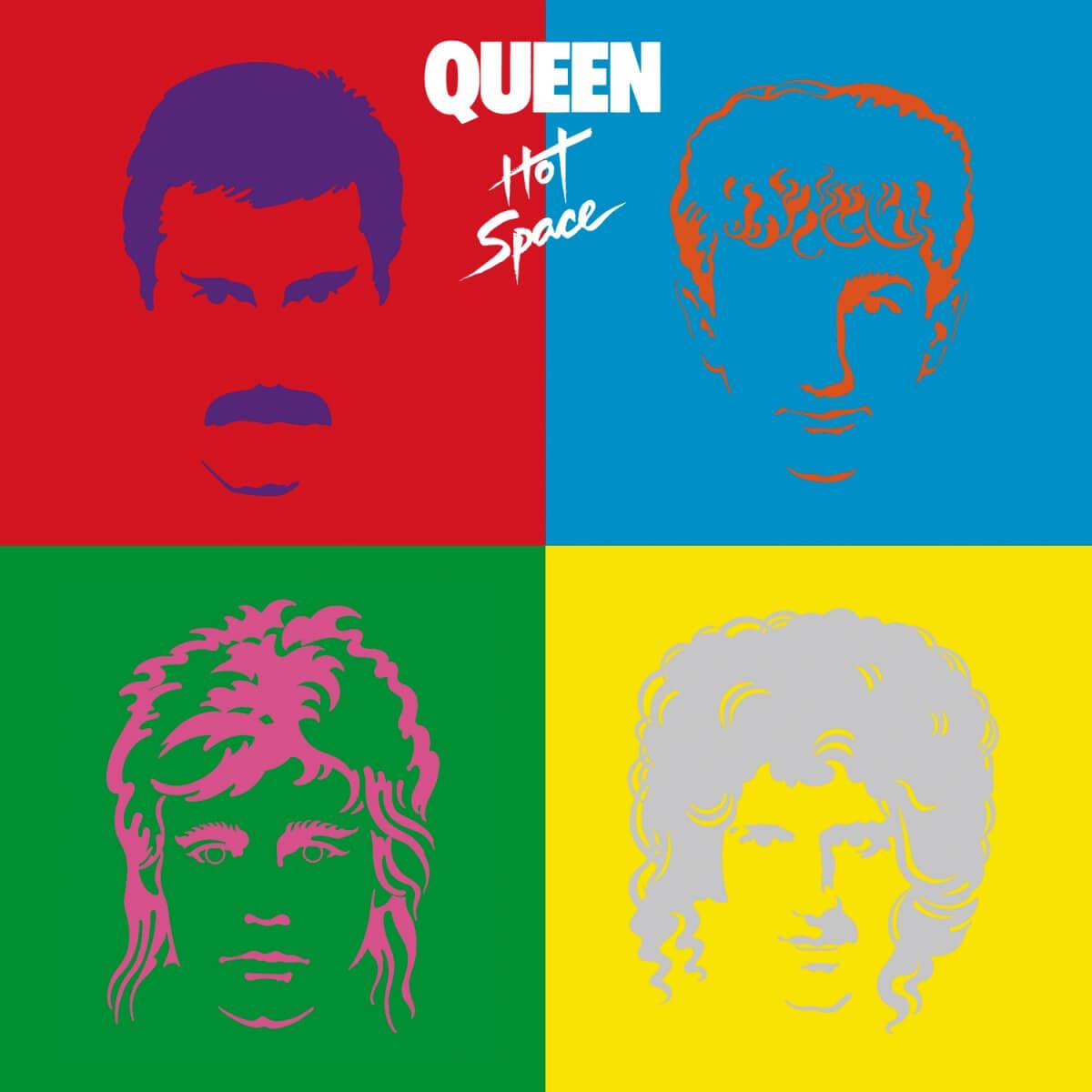 Queen - Hot Space|ジャケット画像