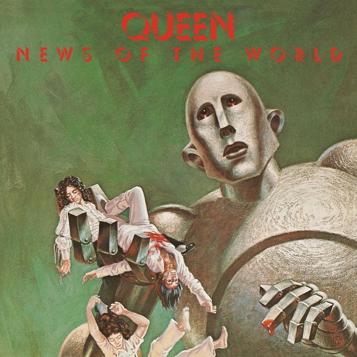 Queen - News Of The World|ジャケット画像