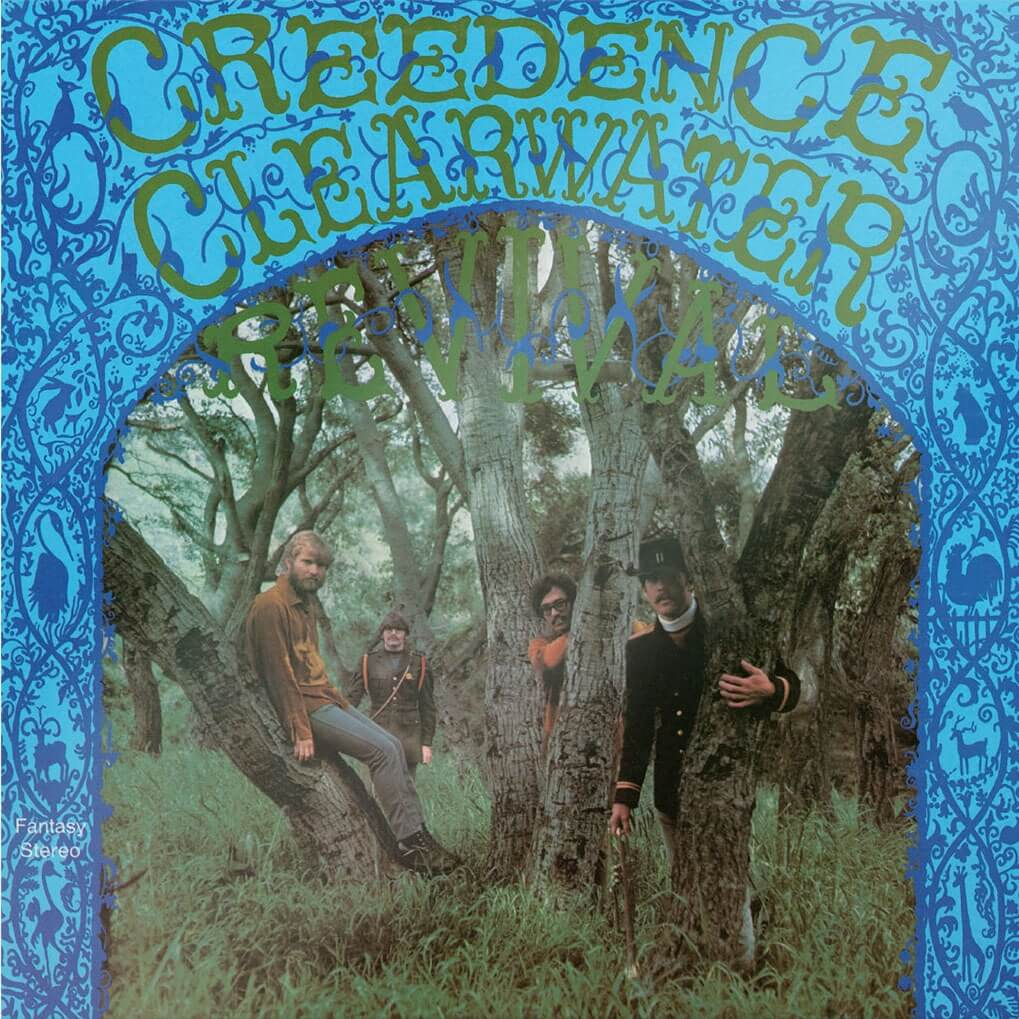 Creedence Clearwater Revival(Album)|ジャケット画像