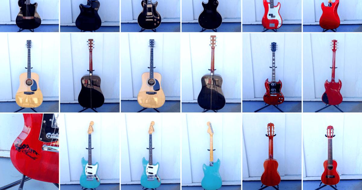 ギター・ベース一覧