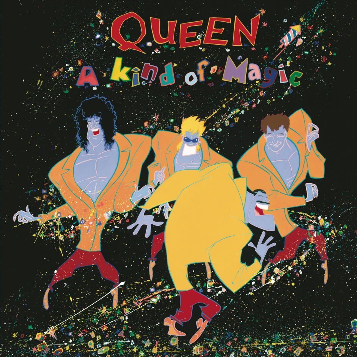 Queen – A Kind Of Magic|ジャケット画像
