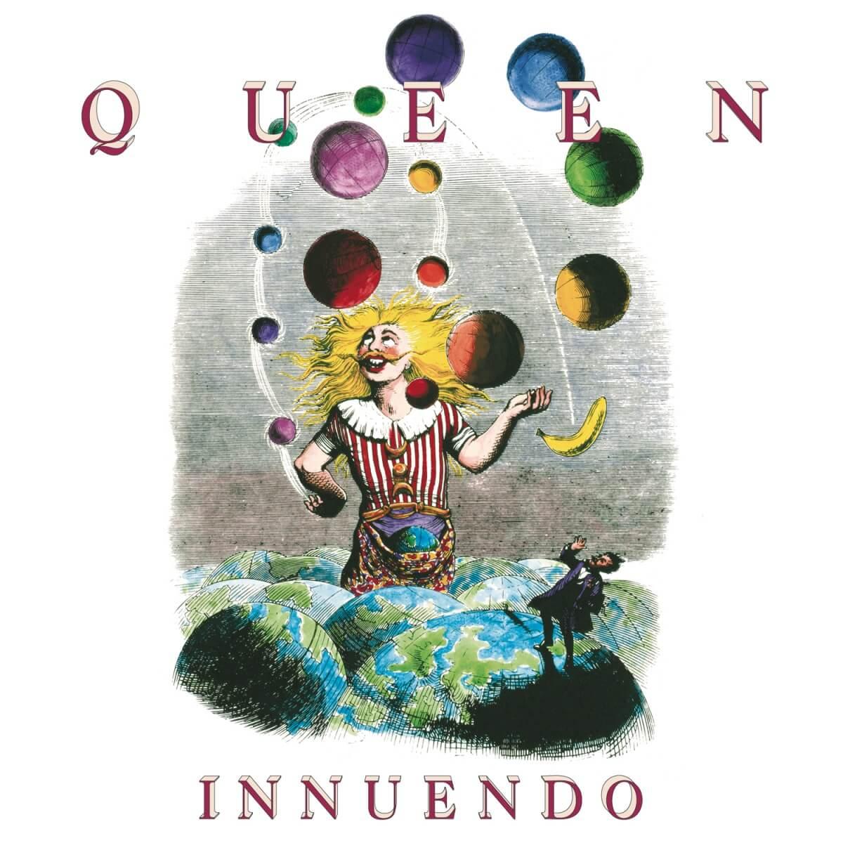 Queen - Innuendo|ジャケット画像