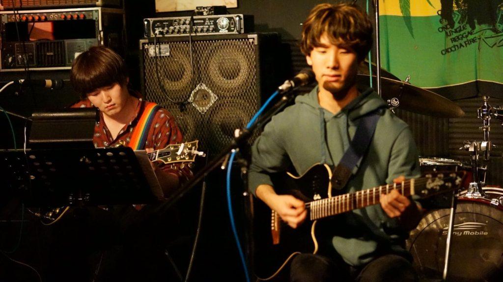 やぎちょん with 森ライブ写真
